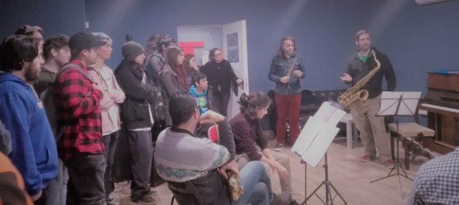 Visita a los locales de ensayo Murcia Underground