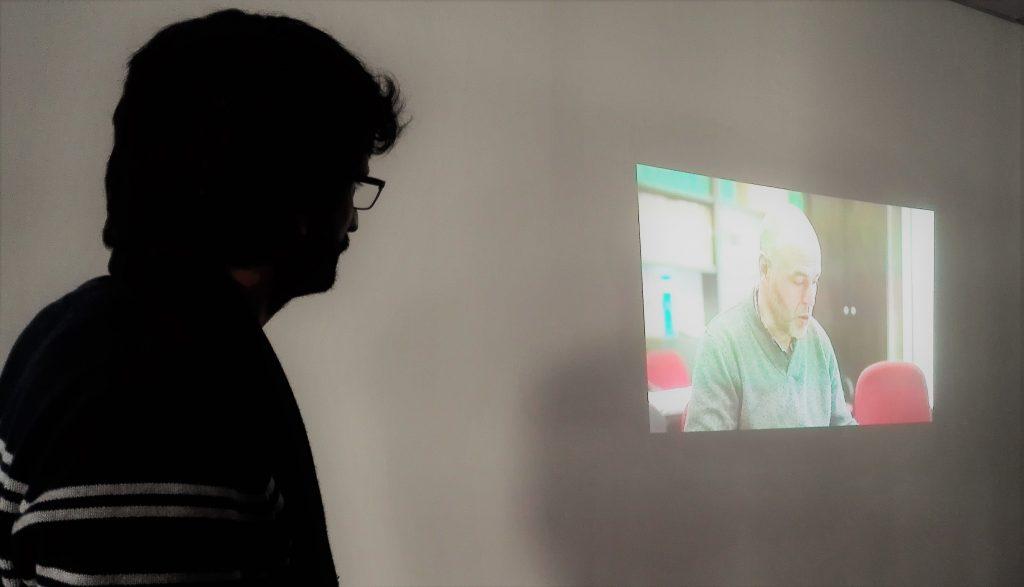 Gonzalo Ballester presentando su último trabajo
