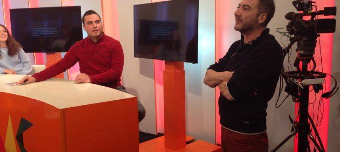 Visita TVM «Iluminación en Platos de Televisión» con Juan Vázquez