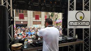 Cartel con los mejors DJs
