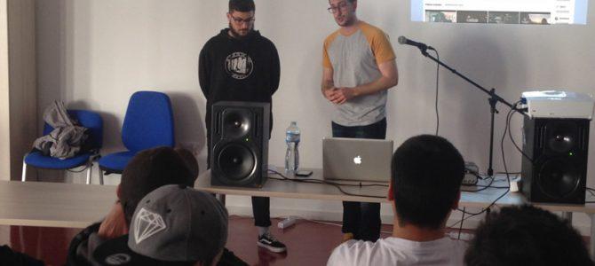 Masterclass «El Club de la Lucha: Introducción a Sellos Discográficos» con Ismael García y K-STA