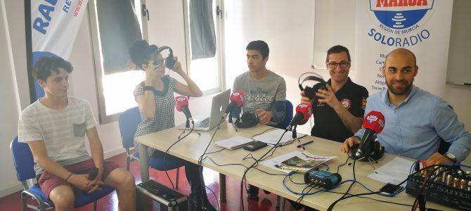 RADIO MARCA HACE SU DIRECTO EN CESUR MURCIA AUDIOVISUAL