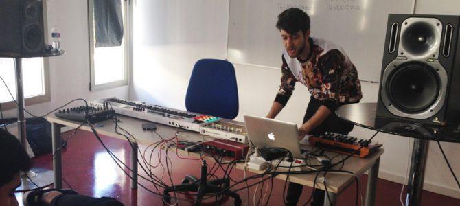 """Masterclass """"Iniciación a la Producción Musical con Ableton Live"""" por Carlos Martínez"""