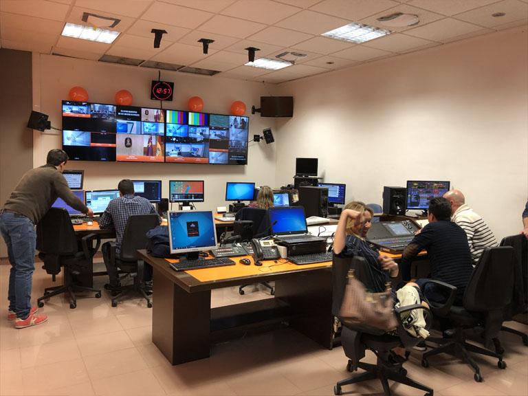 Cesur Visita TV autonómica 7RM
