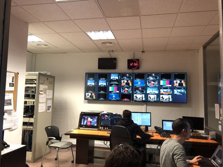 7RM Centro de recepción de señales de TV